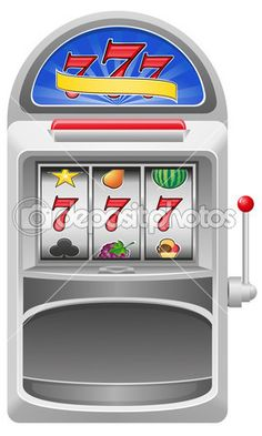 Slot machine to hold coin purse