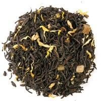 Mango Mist Tea. Fresh piquant mango character with memories of happy days in the sun. A stunning iced tea- the delicious flavor virtually jumps out of the cup. Blended with the top quality Ceylon high mountain grown black tea, dried mango, papaya and flower petals.
