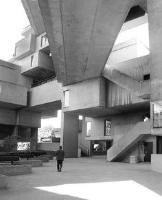 Architecture  Modern design : Habitat 67 Montreal Moshe Safdie 1967 | trevor.patt