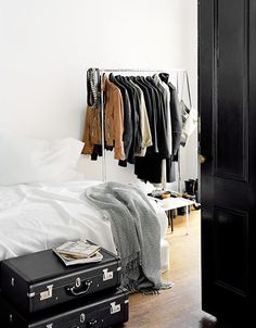 when you choose location over space... it is usual the closet you miss the most.