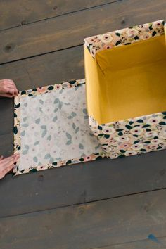 diy storage boxes dollar tree 18 Storage Organization Ideas Using Baskets Easy Ideas for Organizing and Cleaning Your Home HGTV # Diy Storage Boxes, Fabric Storage Bins, Pretty Storage Boxes, Diy Storage Containers, Decorative Storage Bins, Bed Storage, Storage Drawers, Storage Baskets, Decorative Boxes