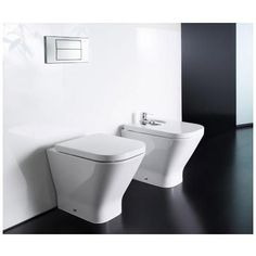 Roca - The Gap Back to wall WC pan with soft-close seat Feature Image