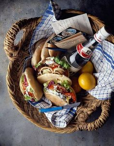 Greek pic nic?  Pita is always nice because it is easy to hold and less messy for pic-nicers