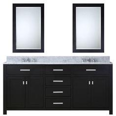 "Found it at Wayfair - 72"" Double Bathroom Vanity Set with 2 Mirror"