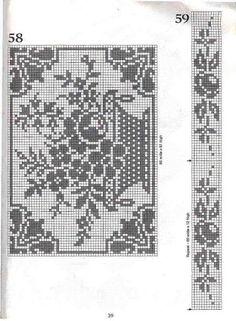 basket Filet Crochet