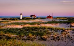 Cape Cod, Massachusetts: Impossibly white beaches, marshes, and the lighthouses that decorate New England's coast appear in abundance at the Cape Cod National Seashore.