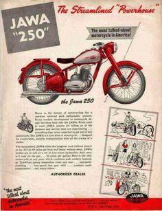 Jawa Motorcycle reintroduce by Mahindra Bike Poster, Motorcycle Posters, Poster Ads, Vintage Advertising Posters, Old Advertisements, Advertising Ads, Classic Motors, Classic Bikes, Classic Motorcycle