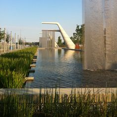 Sherbourne Common, now how's this for a storm water treatment facility! Toronto, Canada