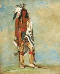 Nót-to-way, a Chief, 1835–36; Iroquois/Haudensaunee (People of the Longhouse)