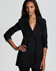 Burberry London Coat - Wensley Double Breasted Wool & Cashmere | Bloomingdale's