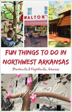 Visiting Bentonville or Fayetteville, Arkansas soon? Here are some of the fun things you can do with the kids in Northwest Arkansas during your next vacation. Get vacation travel tips for NWA!