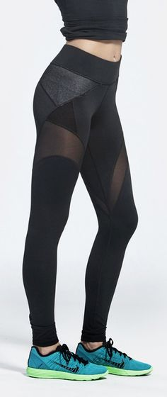 Workout leggings | Running Tights | Workout Clothes @ http://www.FitnessApparelExpress.com