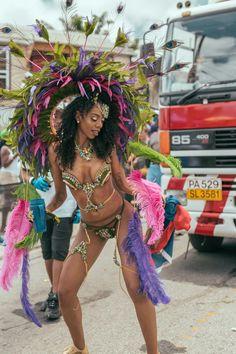 Calypso Music, Carnival Dancers, Rihanna Photos, Pretty Black Girls, Masquerade, Gq, Costumes, How To Wear, Art History