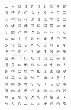 150 Electronic Icons by creativestall You are working on a project where you are looking for outline electronics vector icons? Here we bring an awesome collection of 1 Mini Drawings, Small Drawings, Easy Drawings, Bullet Journal Art, Bullet Journal Inspiration, Doodle Icon, Doodle Art, Mini Tattoos, Dog Tattoos