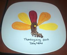 Thanksgiving Craft Keepsake for Baby - BabyEarth Grow @Kristen Inman This would be cute for your new grandson!