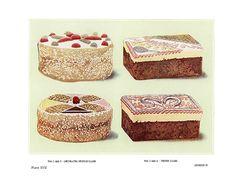 Vintage Sponge Cakes