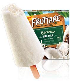 Coconut & Milk Popsicle