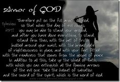 Armor of God @Coming Alive in Christ blog #Bibleverse #God #HisWord