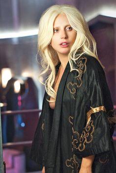 "ladvsgaga: "" "" Lady Gaga as 'The Countess' on American Horror Story: Hotel. "" """