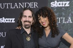 Bear McCreary, Composer & Music Director for Outlander shown with his wife, Raya Yarbrough who sings Outlander's Skye Boat Song ~ https://www.youtube.com/watch?v=LItVyt-CwC4