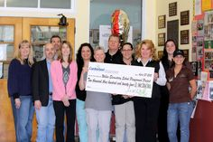 Wilbur Elementary School Check Presentation - Somerset, MA