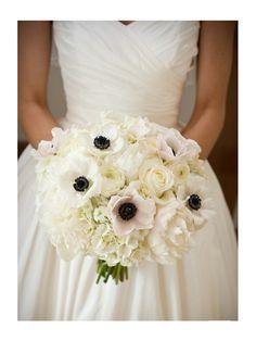 Bouquet, centre de table, boutonnière : vive l'anémone !   blog-guydegrenne