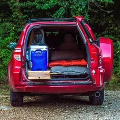 Would you like to go camping? If you would, you may be interested in turning your next camping adventure into a camping vacation. Camping vacations are fun and exciting, whether you choose to go . Auto Camping, Diy Camping, Minivan Camping, Truck Camping, Camping Gear, Camping Hacks, Backpacking, Stealth Camping, Camping Checklist