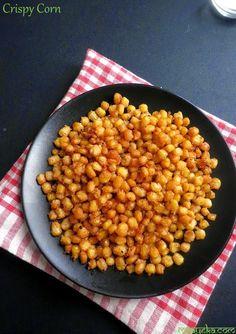 how to make crispy corn