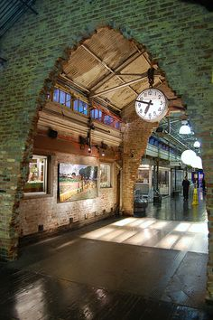 Chelsea Market  75 9th Avenue (Between 15th and 16th Streets) NY 10011   Mo- Sat: 7am to 9pm, Sun: 8am to 8pm  http://chelseamarket.com