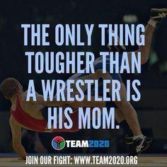 Wrestlers mom