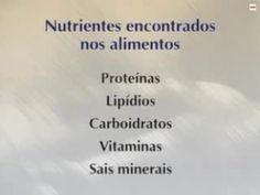 Nutrientes Necontrados Nos Alimentos