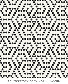 Abstract Geometric Pattern By The Points A Seamless Background Gray And White Texture