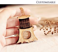 Personalized message in tree necklace - Christmas gifts under 30 - Secret Hollow locket. $25.90, via Etsy.