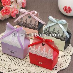 Cadrboard custom gift wedding sweet box