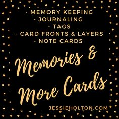 Today I thought I would share these printables with you. I have all these ideas hand written on a sheet of paper on the side of my desk & it's great for inspiration when a card is missing something or you're looking for a base idea, you can just have a quick read through & get some ideas flowing. I also get asked a lot for the card base & layer sizes I use, so the first pic shows that. I hope you find them useful! #JessieHolton #StampinUp #Printables