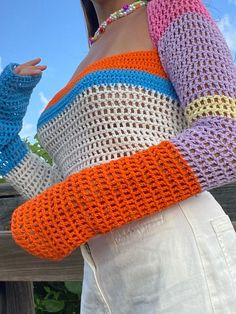Boho Crochet Patterns, Crochet Designs, Sewing Patterns, Diy Crochet Projects, Crochet Crafts, Crochet Crop Top, Knit Crochet, Bralette Pattern, How To Make Clothes