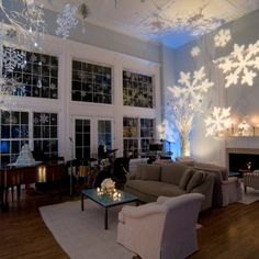 winter wonderland themed  party
