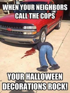41 Amazing Halloween Memes That Are Scary Funny - Laughing Community Happy Halloween Meme, Halloween Quotes, Halloween Pictures, Spirit Halloween, Spooky Halloween, Halloween Decorations, Halloween Humor, Halloween Ideas, Halloween Party