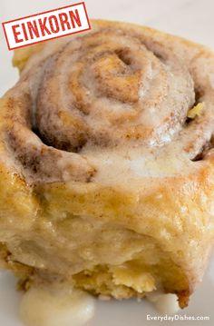 Einkorn cinnamon rolls recipe video