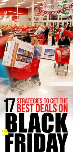 17 Game-Changing Black Friday Strategies