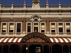 The Old Mining Exchange in Lydiard St.