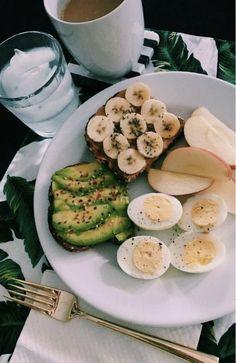 Healthy Meal Prep, Healthy Breakfast Recipes, Healthy Snacks, Healthy Eating, Healthy Recipes, Pancake Recipes, Gluten Free Breakfasts, Diet Recipes, Think Food