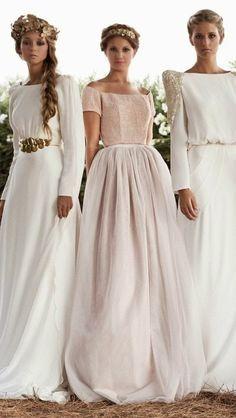 Tipos de faldas en los vestidos de novia/ Types of skirts in wedding dresses
