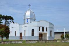 Igreja ucraniana de Palmital, município de Iarati
