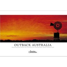 The Outback Australia Photography Book features photographs from the Australian Geographic image collection and takes you on a pictorial journey of the animals, people and places that inhabit the vast Australian outback.