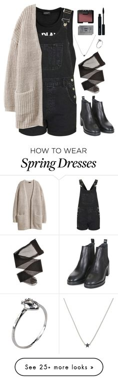 """Spring/Fall"" by laurencd on Polyvore featuring Topshop, H&M, Bjørg, Glo and NARS Cosmetics"