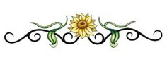 Tribal Sun Petal Band Temporary Tattoo Temporary Tattoo - Small/Medium 1.5 x 4ins (3.75 x 10cm)approx Our delicate Tribal Sun Flower Band temporary tattoo looks 'cool' as a wrist tattoo or worn or your ankle!  Our temporary tattoos look just like real tattoos. Or just try temporary tattoos for fun and shock your friends. Tattoo design by 'TattooWoo':  Tattoo Fashion price: £2.00 / $3.42 (Excluding VAT at 20%)