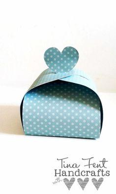 Verpackung mit Herz – Silhouette Cameo {Freebie}  