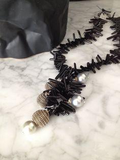 Phyllis Clark Designs  Black and white jewelry