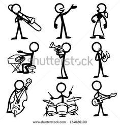 Stick Figure Jazz